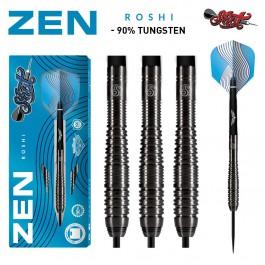 Shot darts Zen Roshi