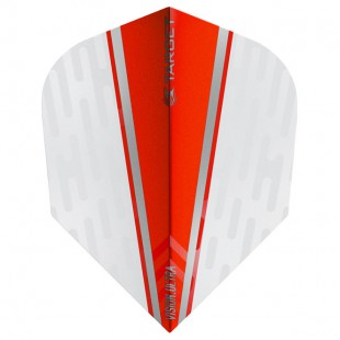 Target White Wing Red Vision.Ultra No6 flight 331580