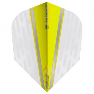 Target White Wing Yellow Vision.Ultra No6 flight 331620