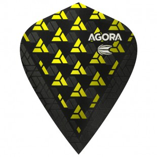 Target Agora Yellow Ultra.Ghost+ Kite flight 332540
