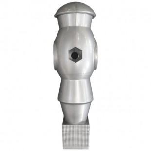 Voetbalpop Black Bandit grijs voor 16 mm stang