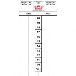 Whiteboard Bull's 30 x 60 Darttel Flex