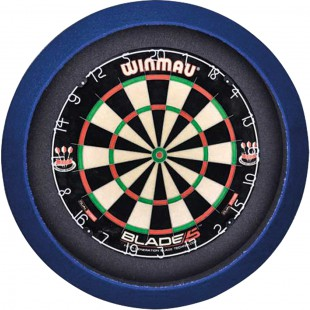 Grand Slam dartboard led-lighting Blauw