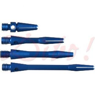 Aluminium shafts blauw
