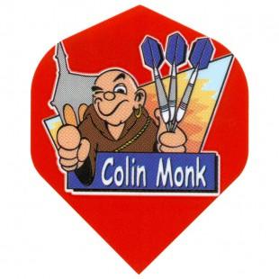 Colin Monk cartoon flight rood