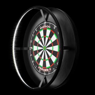 Mission Torus dartbord verlichting<br />Wordt geleverd ZONDER dartbord en surround!