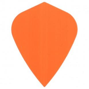Poly Fluor kite orange flight