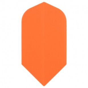 Poly Fluor slim orange flight