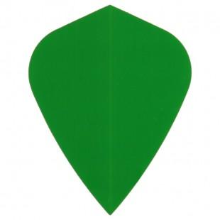 Poly Plain kite green flight