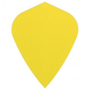 Poly Plain kite yellow flight