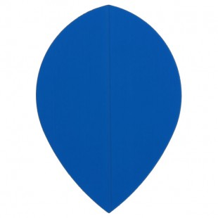 Poly Plain pear blue flight