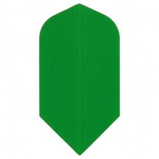 Poly Plain slim green flight