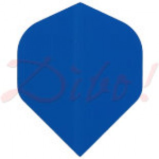 Poly Plain standard blue flight