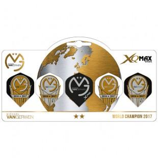 XQ Max van Gerwen World Champion 2017 5-pack flights