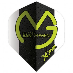 XQ Max Michael van Gerwen flight QD1000880