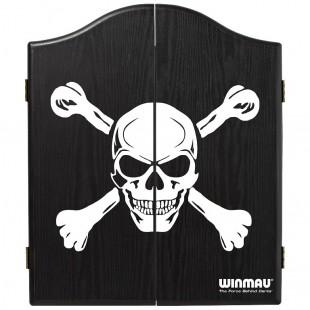 Winmau Skull DeLuxe cabinet gesloten