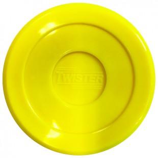 Twister Airhockey Puck 70 mm Geel
