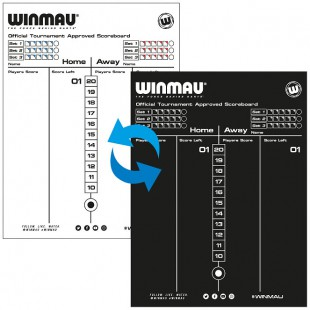 Winmau Tournament scoreboard
