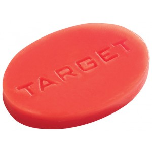 Target Finger Grip Wax oranje