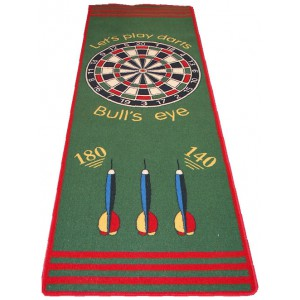 Dartmat let's play darts 240 x 80