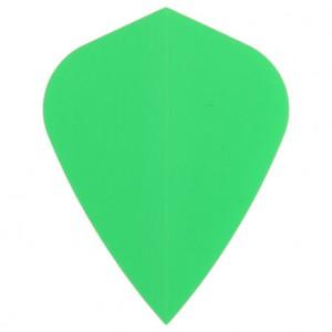 Poly Fluor kite green flight