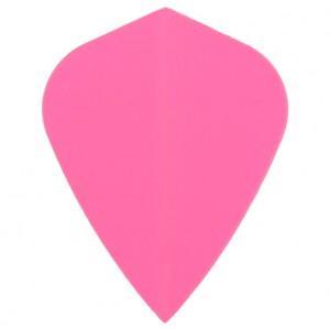 Poly Fluor kite pink flight