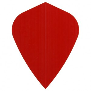 Poly Plain kite red flight