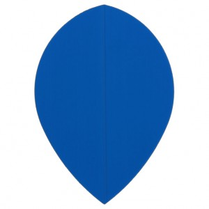 Poly Plain pear blue flight