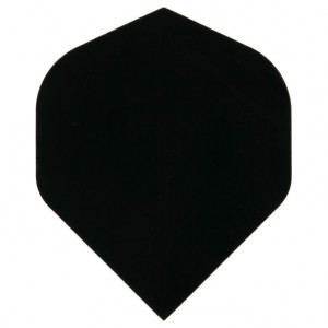 Poly Plain standard black flight