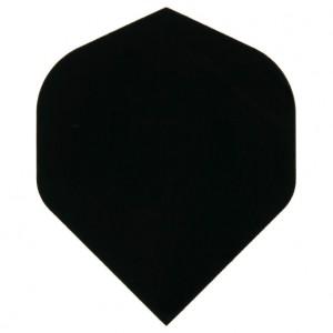Poly Plain standard black flight