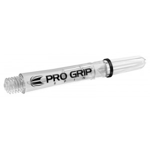 Target Pro Grip Spin shaft Clear