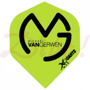 XQMax Michael van Gerwen flight QD1000510
