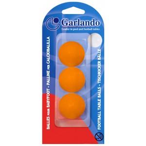 Voetballetjes Garlando Oranje blister 3