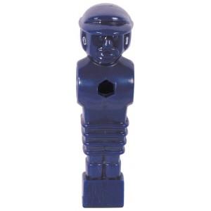 Voetbalpop blauw voor 16 mm stang