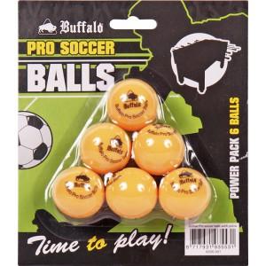 Buffalo Pro Soccer Balls Oranje blister 6