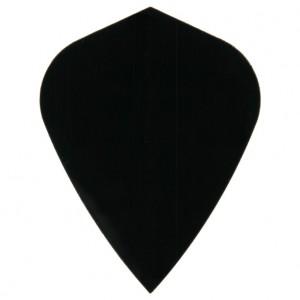 Poly Plain kite black flight
