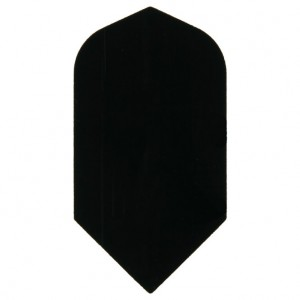 Poly Plain slim black flight