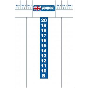 Whiteboard Winmau 38 x 57