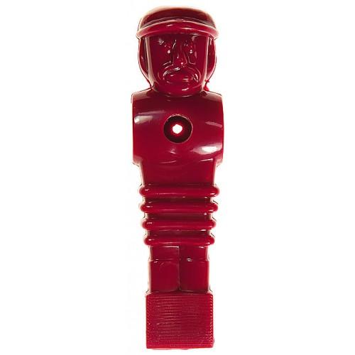 Voetbalpop rood voor 16 mm stang