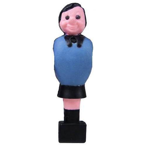 Voetbalpop Garlando blauw voor 16 mm stang