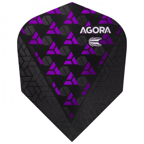 Target Agora Purple Ultra.Ghost+ No6 flight 332680