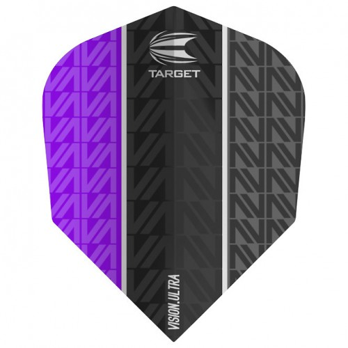 Target Vapor 8 Black Vision.Ultra Purple No6 flight 333550