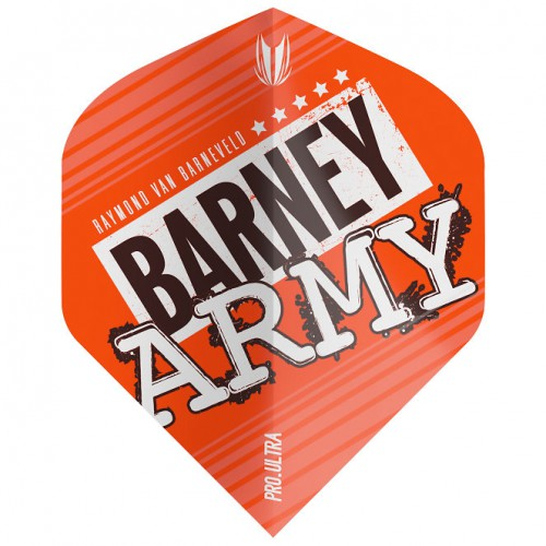 Target Barney Army Orange Pro.Ultra No2 flight 334280