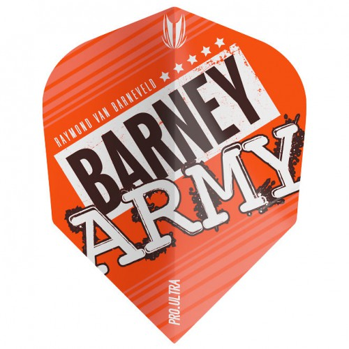 Target Barney Army Orange Pro.Ultra Ten-X flight 334310
