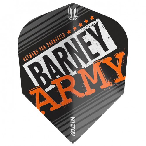 Target Barney Army Black Pro.Ultra Ten-X flight 334360