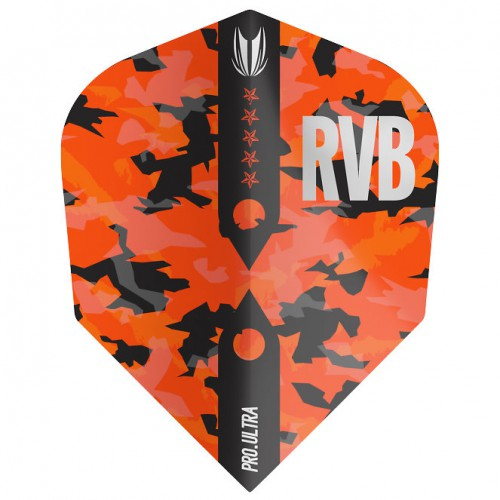 Target Barney Army Camo Pro.Ultra Ten-X flight 334410