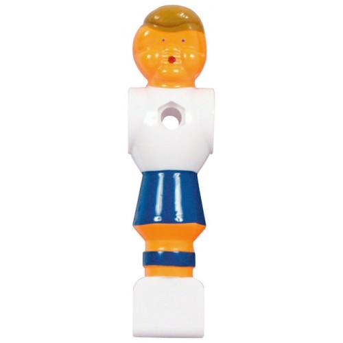 Voetbalpop blauw-wit voor 16 mm stang