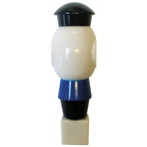 Buffalo Voetbalpop blauw-wit voor 16 mm stang