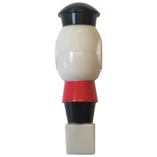 Buffalo Voetbalpop rood-wit voor 16 mm stang