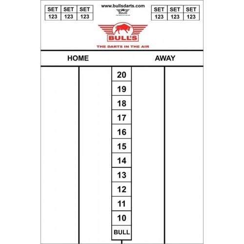 Whiteboard Bull's 30 x 45 Darttel Flex